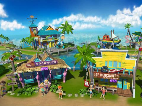 ソーシャルゲーム「Margaritaville Online」、iPadアプリをリリース1