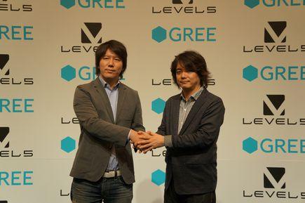 GREEとレベルファイブ、グローバル市場において包括的業務提携を締結1
