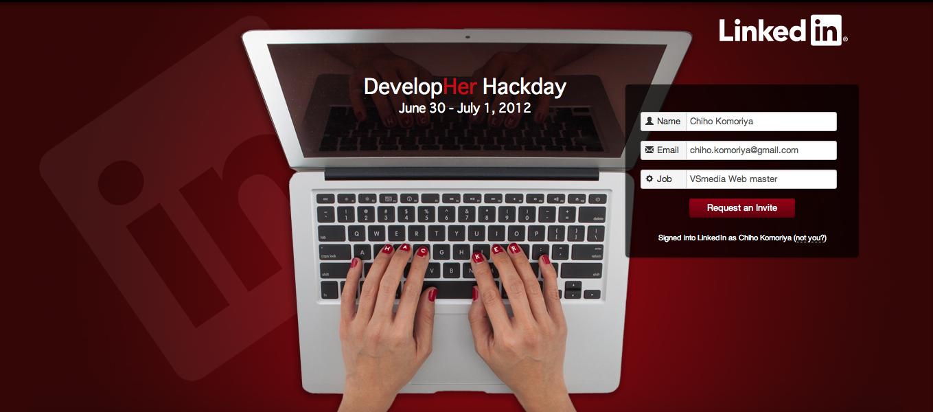 LinkedIn、女性の開発者のためのハッカソン「DevelopHer Hackday」開催