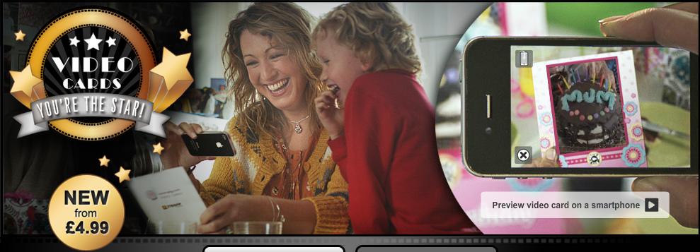 イギリスのAR企業Zappar、グリーティングカードメーカーのmoonpigと提携