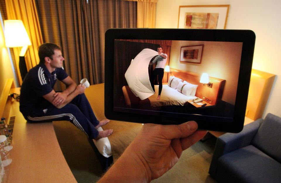 ホテルのHoliday Inn、オリンピック選手がARでホテル内に出現するアプリを制作中