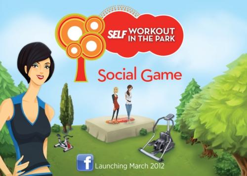 女性向けフィットネス雑誌「SELF」、イベントプロモーション用のソーシャルゲームをリリース