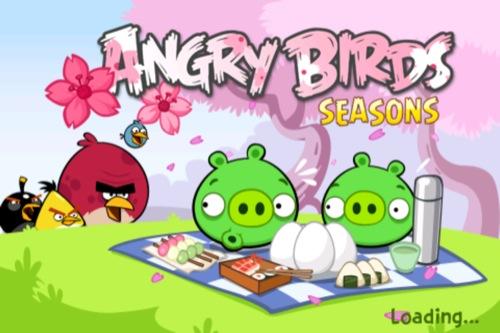 【やってみた】Angry Birds Seasons Cherry Blossomをやってみた1