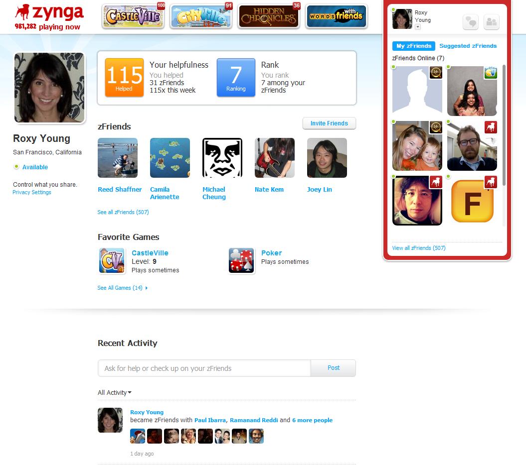 Zynga、独自プラットフォームの概要を発表 オープンは今月中1