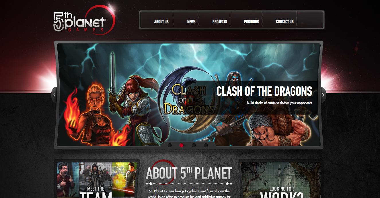 米カード・ソーシャルゲームディベロッパーの5th Planet Games、ゲームデザイン専門のコンサルティング会社を買収