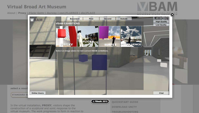 ボールステイト大学、仮想空間内でアート作品が鑑賞できる「Virtual Broad Art Museum」を開発1