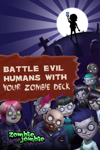 GREE、初の北米向け内製ソーシャルゲーム「Zombie Jombie」をリリース1