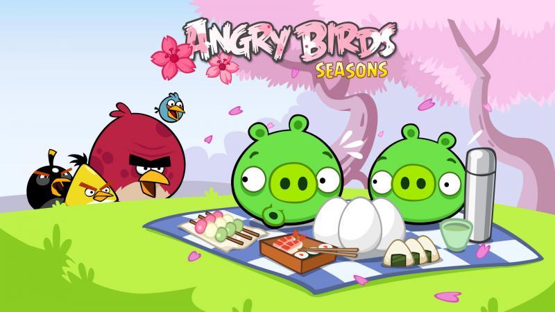 Rovioの「 Angry Birds Seasons」、次のテーマは日本の「桜」2