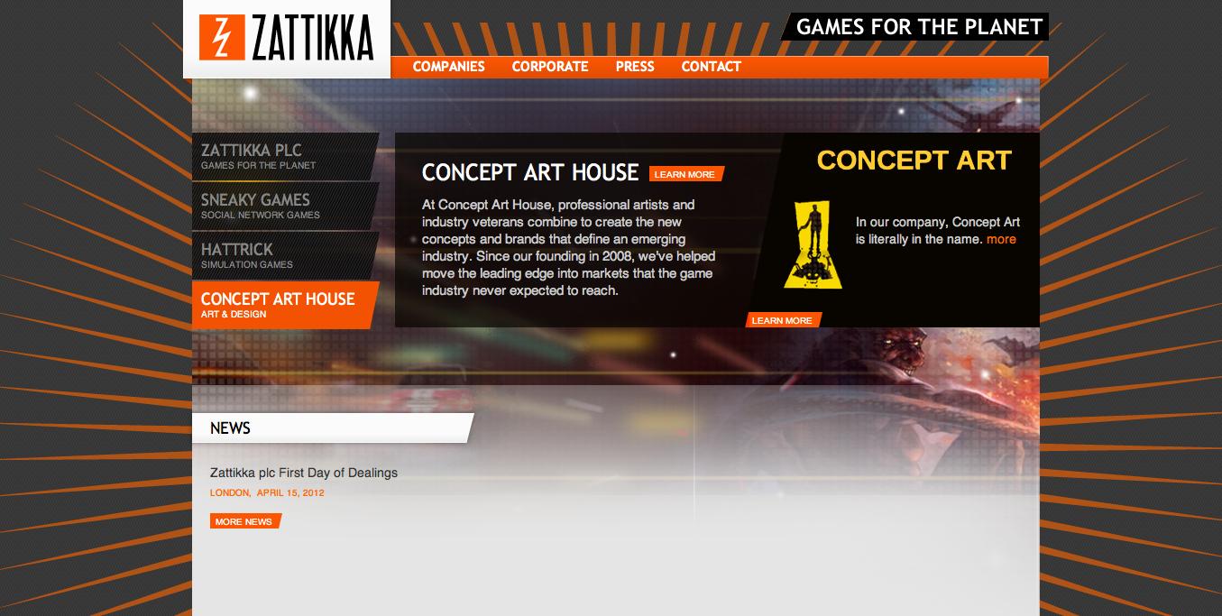 英ソーシャルゲームディベロッパーのZattikka、オンラインゲーム会社3社を一度に買収