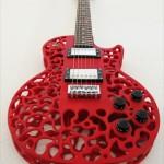 3Dプリンタで出力されたエレキギターのボディが凄い件