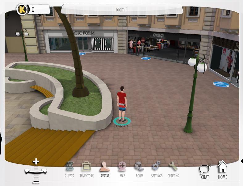 トルコの仮想空間ディベロッパーのYogurt Technologies、Facebook内でプレイできる3D仮想空間「Yogurtistan」を開発