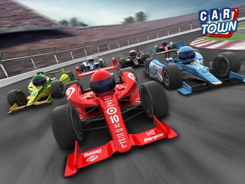 ソーシャルゲーム「Car Town」、インディ500とタイアップイベントを実施
