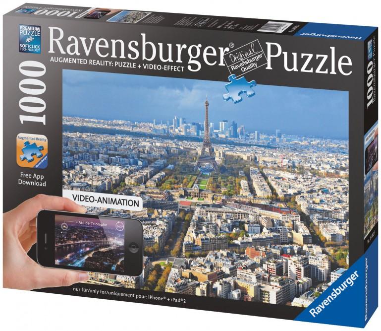 ドイツのジグソーパズルメーカー、ARでコンテンツが飛び出すジグソーパズルを発売