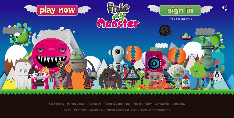 13歳未満の子供向けソーシャルカードゲーム「Fight My Monster」