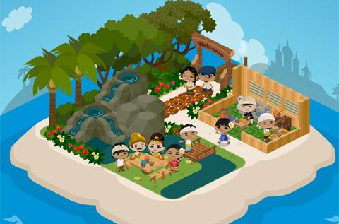 アメーバピグの大型ゲーム第4弾「ピグアイランド」、オープンか5日間で100万ユーザーを突破!1