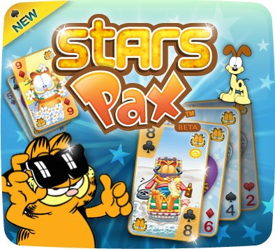 Dassa GamesとVirtual Greats、Facebookにてアメリカの猫キャラ「ガーフィールド」のカードゲームを提供
