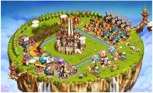 ネクソン、スマホ向けソーシャルゲーム「Rule the Sky」を日本で本格展開 「 浮島ふわりん」としてパブリッシング