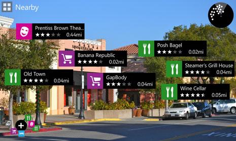 Nokia、Windows Phone向けARアプリ「Nokia City Lens」をリリース