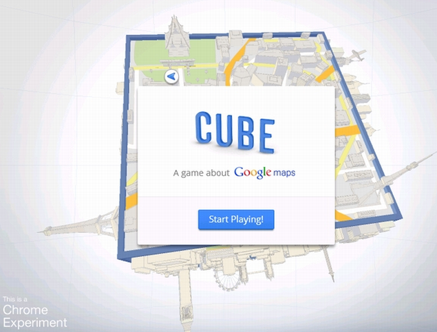 Google、3D玉転がしゲームをリリース
