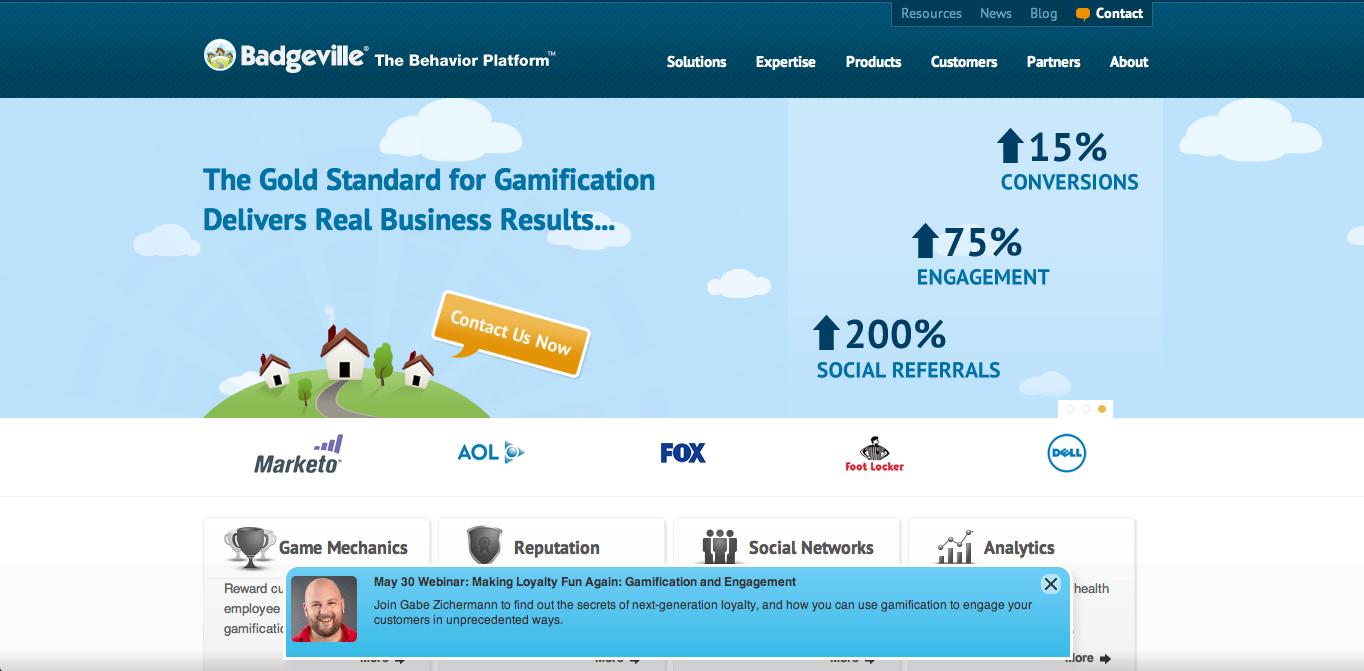 ゲーミフィケーション企業のBadgeville、2500万ドル資金調達