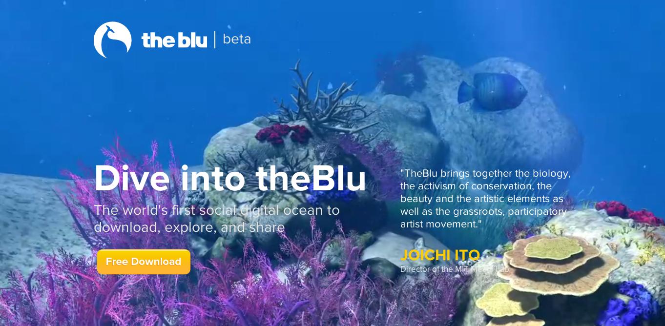 魚になって海洋生活が体験できる3D仮想空間「the blu」、正式サービスを開始