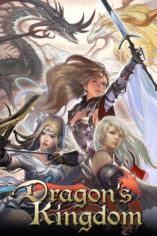 ジークレスト、iOS向けゲームアプリ「Dragon's Kingdom」をリリース1