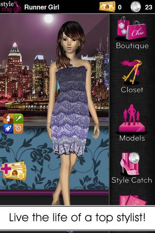 女性向け3Dアバター・ファッションコミュニティ「Frenzoo」、iPhone向けゲームアプリ「Style Me Girl」をリリース1