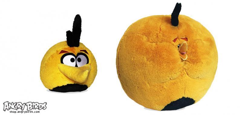 Rovio、Angry Birds Seasonsの新キャラ「オレンジバード」のぬいぐるみを販売開始