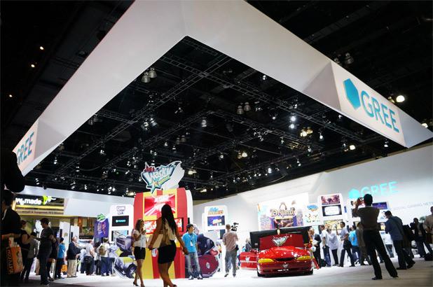 GREE、E3 2012に出展中!1