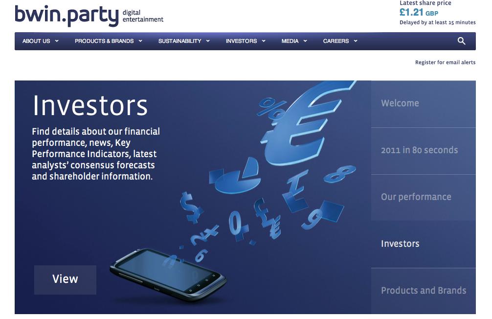 オンラインギャンブルゲームのbwin.party、ソーシャルゲーム市場への参入を計画