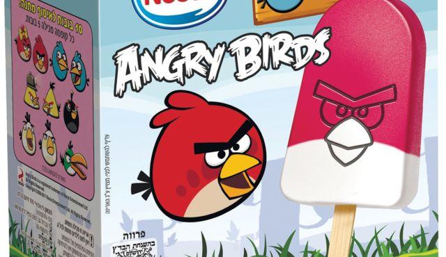 Angry Birdsのアイス、イスラエルで大ヒット