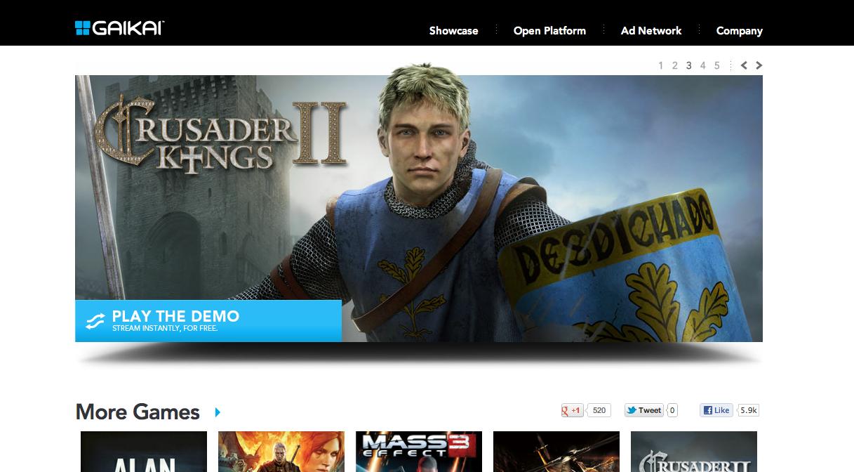 サムスンとGaikaiが業務提携 スマートTVにクラウドゲームを提供