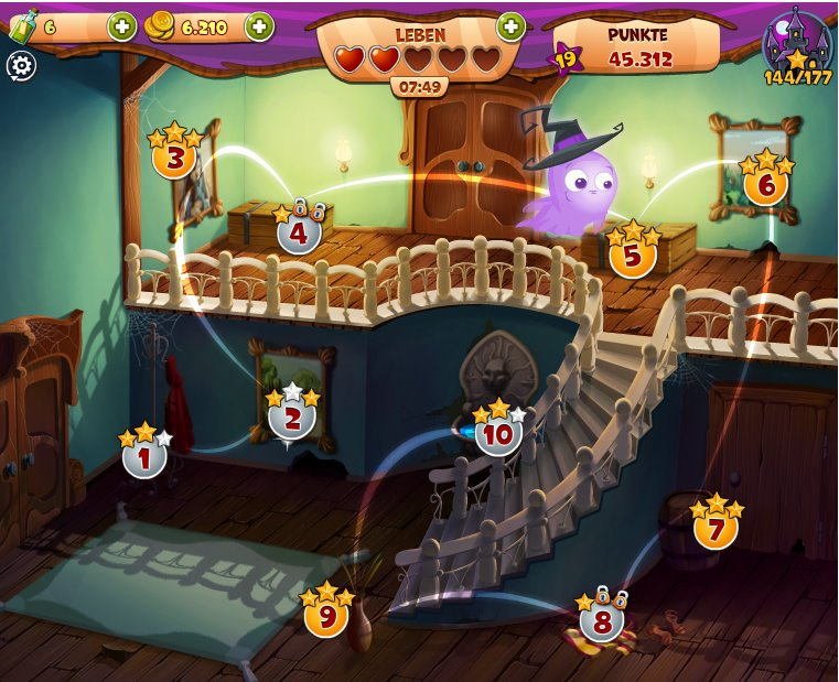 オバケと一緒に古い洋館を巡るFacebook向けソーシャルゲーム「Solitaire Castle」、月間アクティブユーザー数100万人突破1