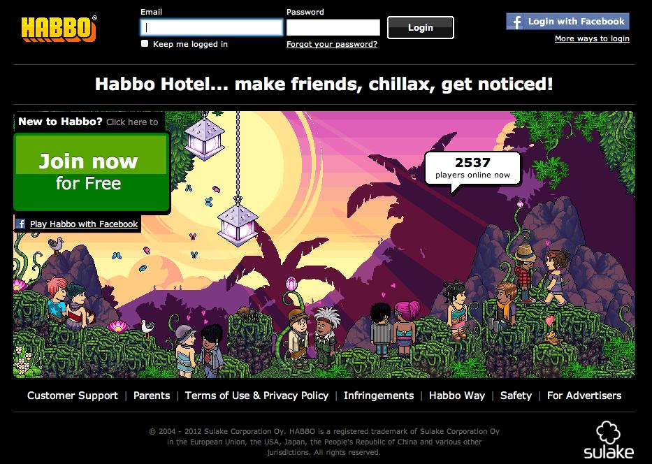 「Habbo Hotelは小児性愛者の巣窟」---英公共放送が報道し大パニック