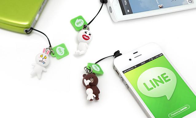 スマホ向け無料通話・メールアプリ「LINE」、遂にリアルグッズ展開を開始!1