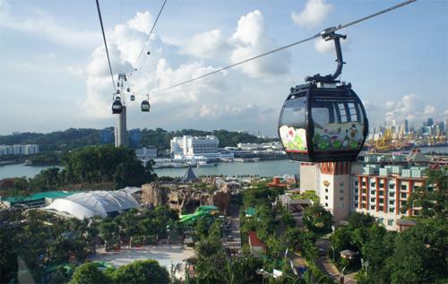 鳥の視点が楽しめる?Angry Birdsのケーブルカー、シンガポールに登場!1