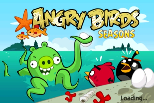 【やってみた】Angry Birds Seasonsの「海」レベルがシャレにならないくらい難しい件について1
