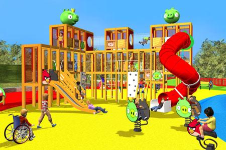 Rovio、Angry Birdsのテーマパークをイギリスにも建設1