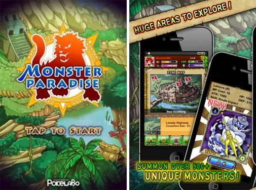 ポケラボ、iOS向けソーシャルゲーム「Monster Paradise」を 46ヶ国・地域へ提供開始!