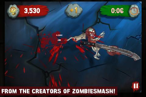 Zynga、スマホ向けゾンビゲー第2弾「Zombie Swipeout」をリリース1
