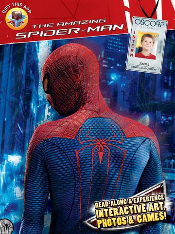 電子書籍とARがひとつになった!ディズニー、iPad向けインタラクティブ電子書籍「Spider-Man AR Book HD」をリリース1