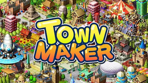 メイクソフトウェア、Android向け街作りソーシャルゲームアプリ「Town Maker」を10ヵ国にてリリース1