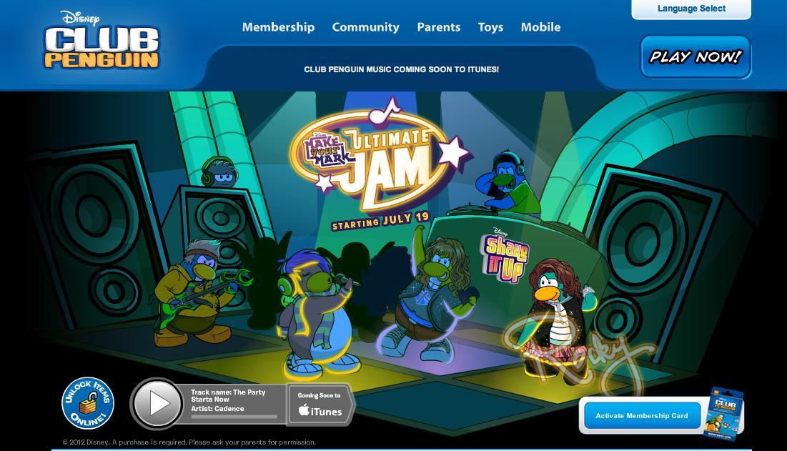 ディズニーの子供向け仮想空間「Club Penguin」、子供の安全対策のために年間470万ドルを使用