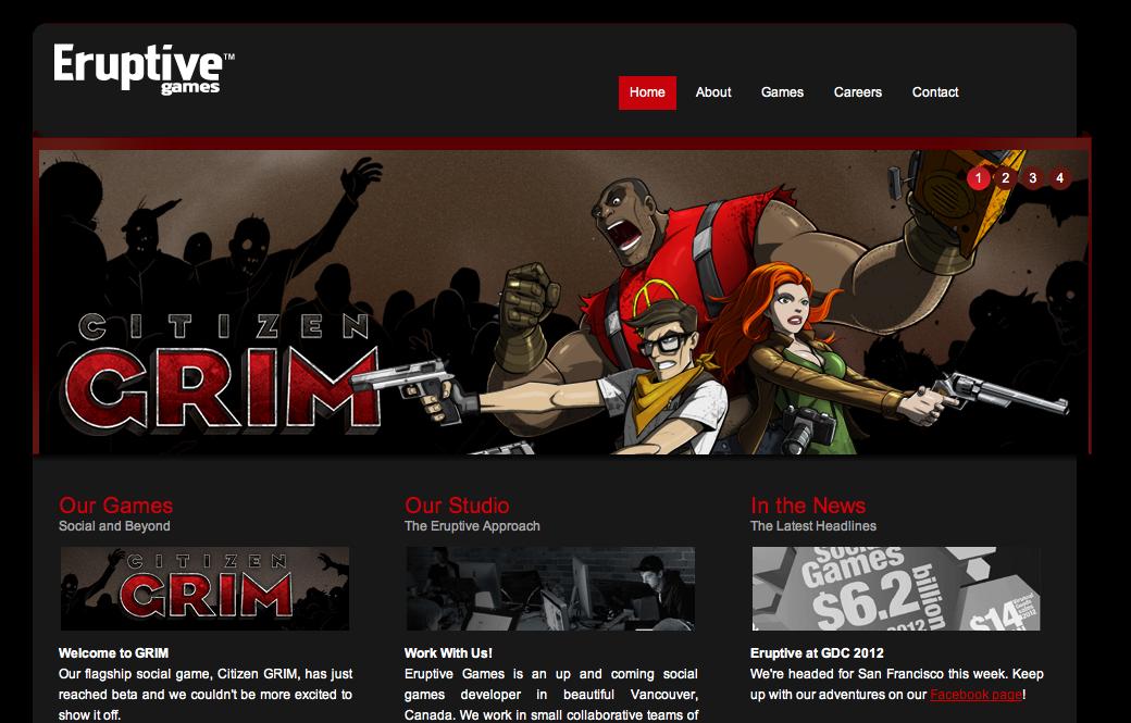 カナダのソーシャルゲームディベロッパーのEruptive Games、100万ドル資金調達