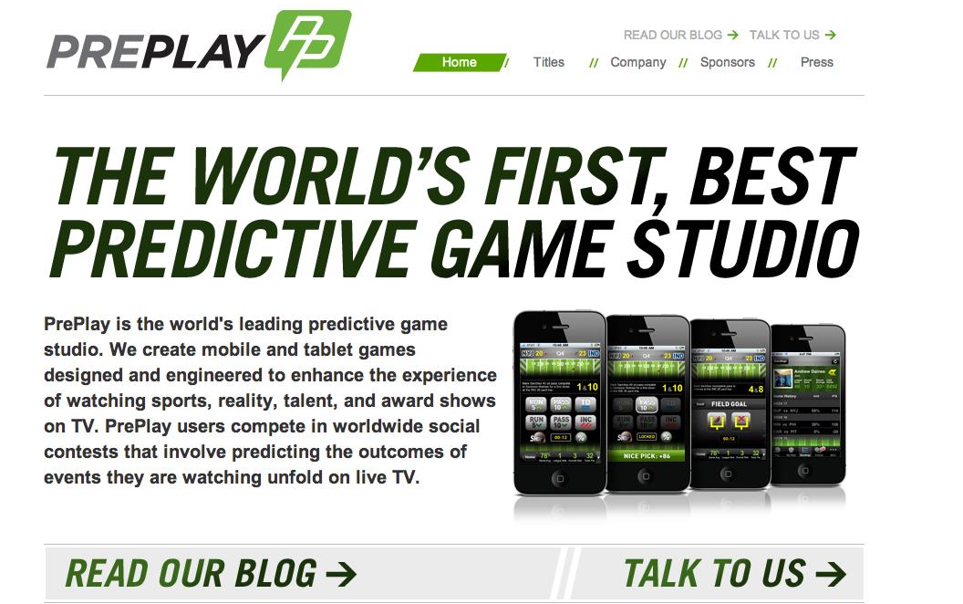 スポーツ試合の予測ゲームアプリを開発するPre Play Sports、310万ドル資金調達