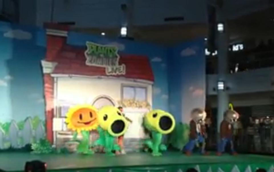 植物やゾンビが歌って踊る! PopCap、フィリピンにてソーシャルゲーム「Plants vs. Zombies」の着ぐるみショーを開催