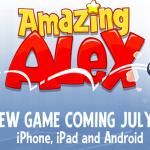 Rovioの新作ゲームアプリ「Amazing Alex」、明日7/12にリリース!