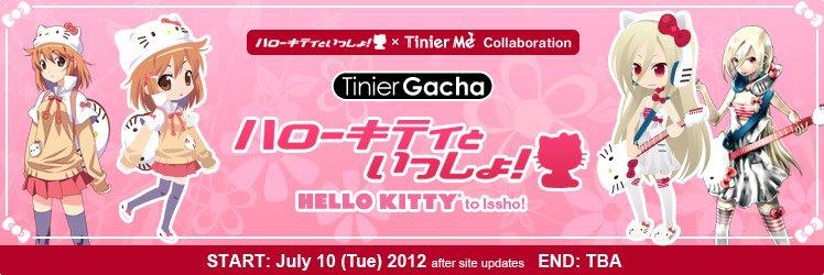 ジークレスト、@gamesに続き海外向けアバターオンラインコミュニティ「TinierMe」でも「ハローキティといっしょ!」とコラボ!