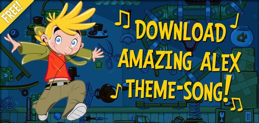 Rovioの新作「Amazing Alex」、テーマソングを無料配信中