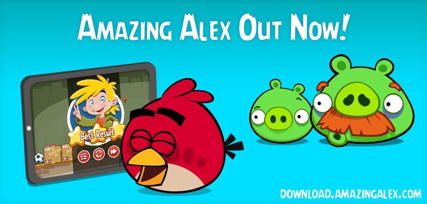 Rovioの新作「Amazing Alex」、53ヵ国のApp Storeで売上ランキング1位を獲得